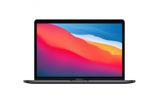 Apple Macbook Pro 13 2020 M1 (MYD82) Laptop: 13.3″ – 8-Core Processor – 8GB RAM – 256GB Internal Storage – Space Grey