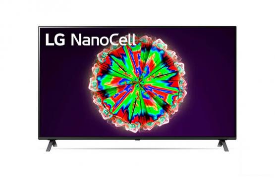 LG NanoCell TV 49 Inch NANO80 Series Cinema Screen Design 4K Active HDR WebOS Smart AI ThinQ
