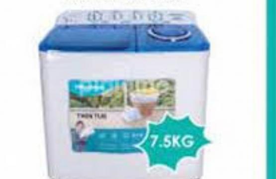 Hisense Washing Machine Twin Tub  7.5KG