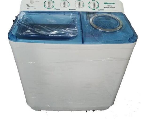 Hisense washing machine  Twin tub 10kg