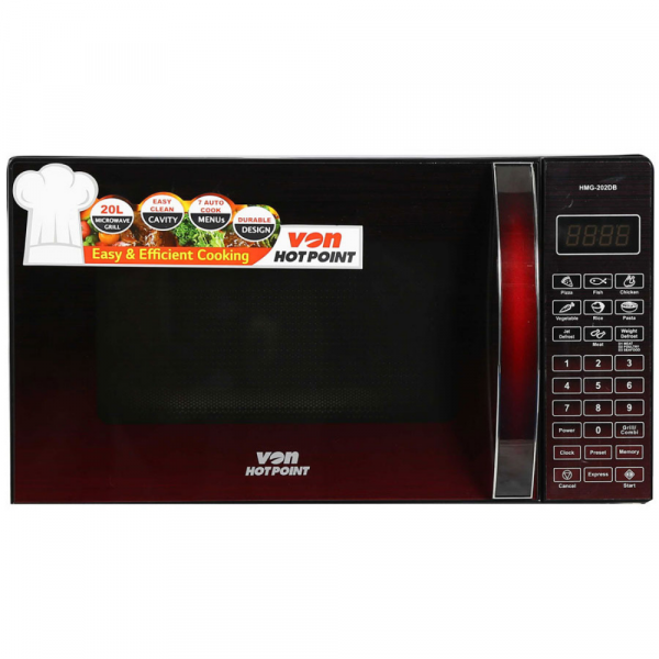 VON – Microwave Grill 20ltrs silver